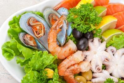 นทีอาหารทะเล-อิสลาม